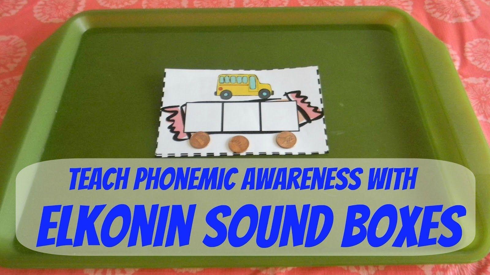 Free Printable Elkonin Boxes