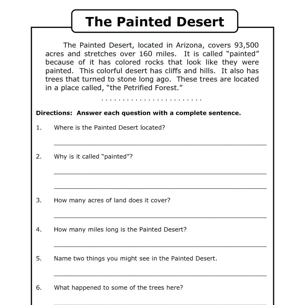 Free Printable Short Stories For 2nd Graders