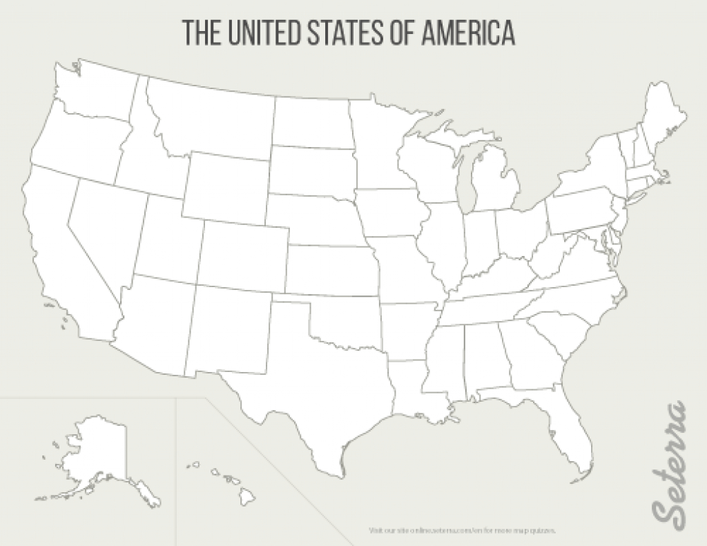Blank Map Of The United States With Numbers