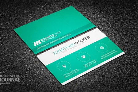 60  Only the Best Free Business Cards 2015   Free PSD Templates Clean   Minimal Creative Business Card Template