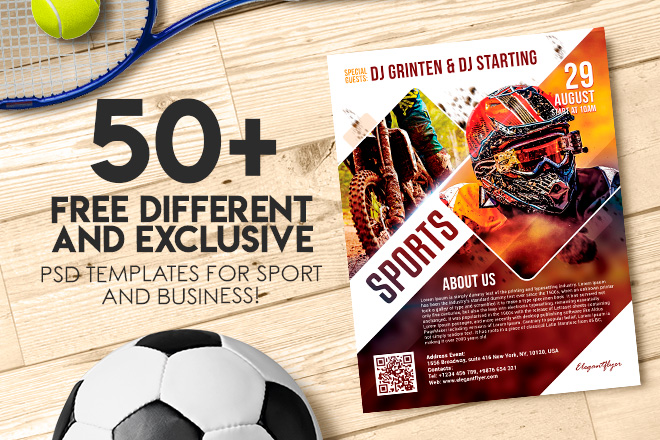 50 Premium Free Different And Exclusive Psd Templates For