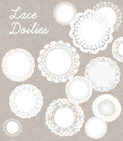Lace-Doily-Vector-500x571