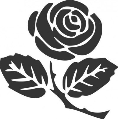 RoseSilhouette-500x503