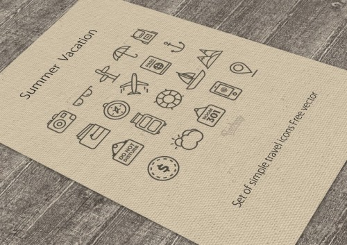Set-of-simple-travel-icons-Free-vector-500x353