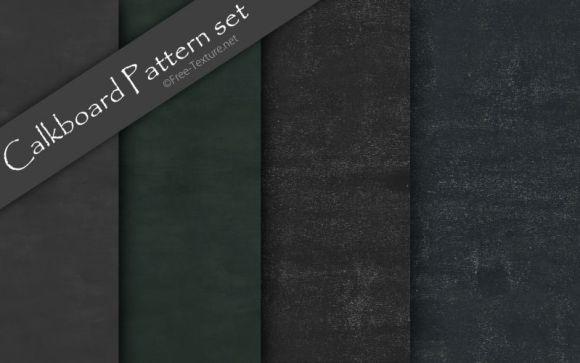 Calkboard Pattern set