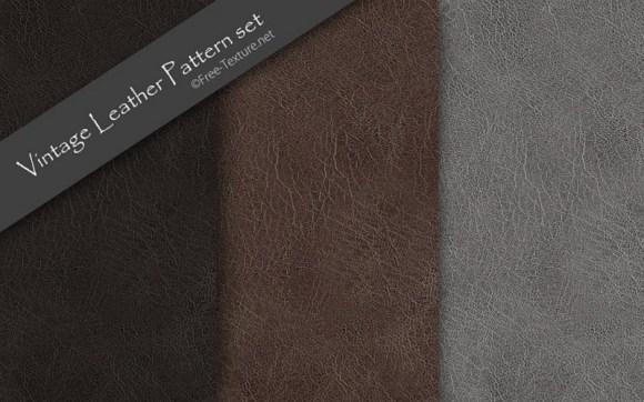 vintage-leather-pattern-set