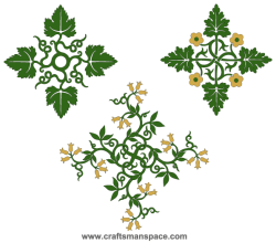 Vector Floral Ornamental Designs Graphics