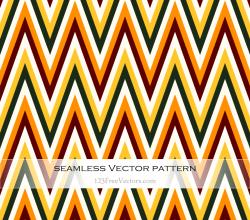 Zigzag Chevron Pattern Vector Art