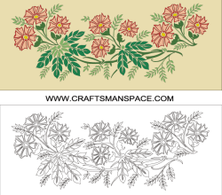 Vector Flowers Artwork