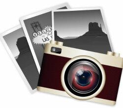 Vector Clip Art Vintage Camera