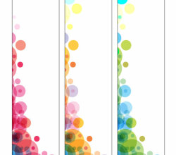 Free Abstract Colorful Circle Banner Designs Vector