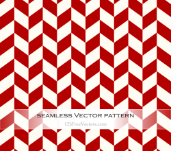 Red Chevron Pattern Vector