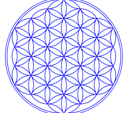 Flower of Life Vector Art