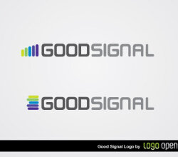Good Signal Logo Vector
