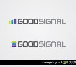 Good Signal Logo Vector
