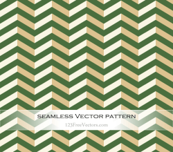 Green Vintage Chevron Background