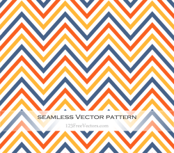 Colorful Chevron Pattern Background