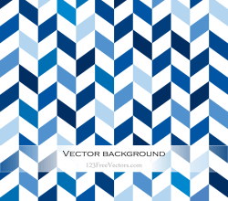 Blue Zig Zag Background