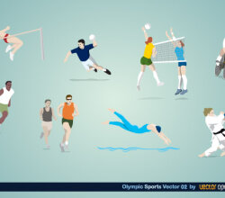 Olympic Sports Vector Art – 2