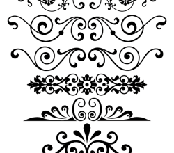 Decorative Ornaments Vector Free