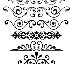 Decorative Ornaments Vector Free