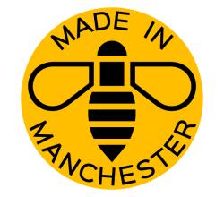 Vector Manchester Bee Logo Design