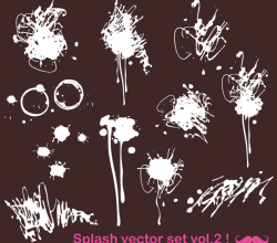 Free Vector Paint Splats Images