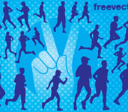 Runners Vectors