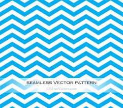Blue Zigzag Seamless Pattern Vector