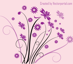 Vector Flourish Design Element