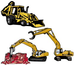 Vector Excavator
