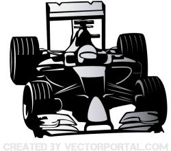 Vector Formula One Car