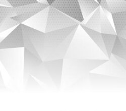 Abstract banner with a monotone low poly design Free Vector