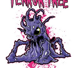 Free T-shirt Design – Terror Tree