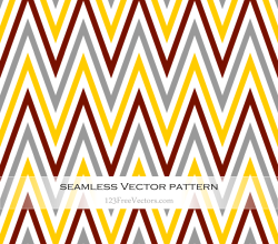 Zigzag Chevron Pattern Vector Illustration