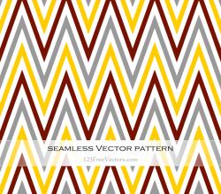 Zigzag Chevron Pattern Vector Illustration