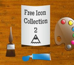 Artist Icons Free Vector Art