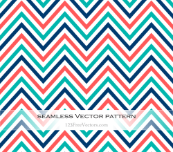 Colorful Zigzag Pattern Vector