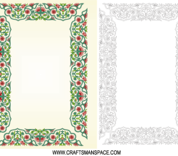 Vector Chinese Border Ornament Frame