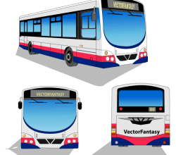 City Bus – Free Vector