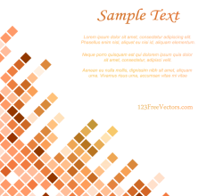 Tiled Background Vector Image