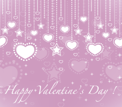 Valentine's Day Card Heart Design Template