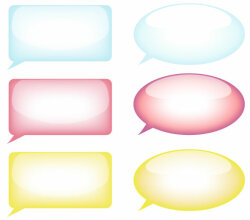 Speech Bubble Free Vector Resource