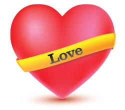 Love Heart Vector Free