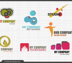 Simple Logos Free Vector Designs
