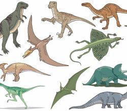Dinossauros Vector