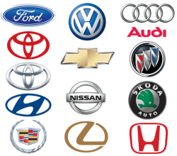 Vector Famous Car Brand Logo Design