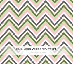 Zigzag Chevron Pattern Illustration