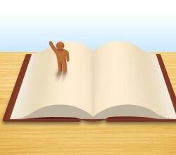 Open Book Free Vector Art