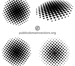 Halftone Dots Illustrator